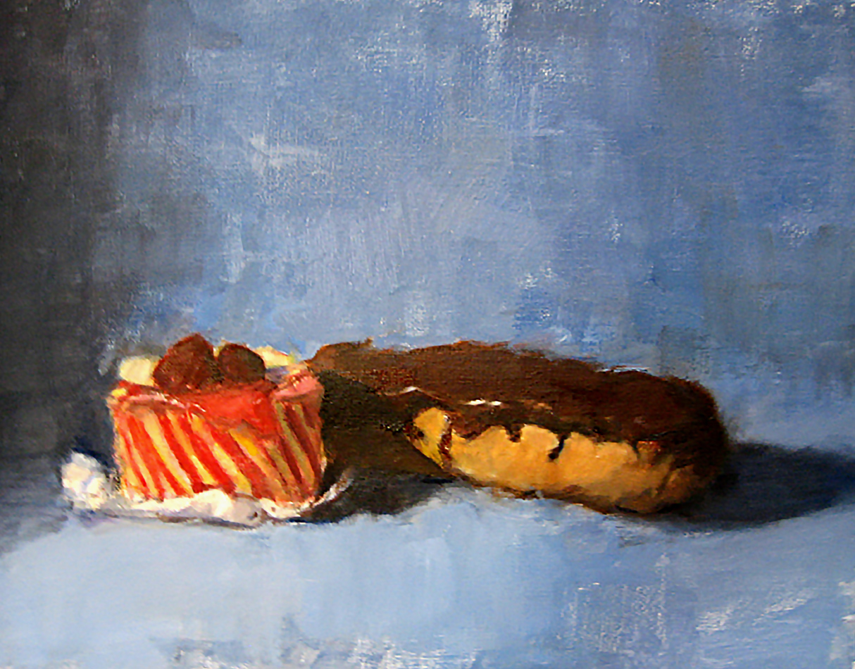 Just Desserts Oil Painting