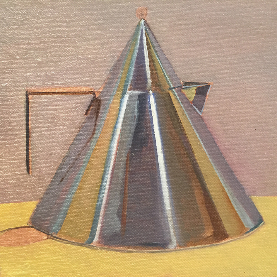 Teapot Oil Painting