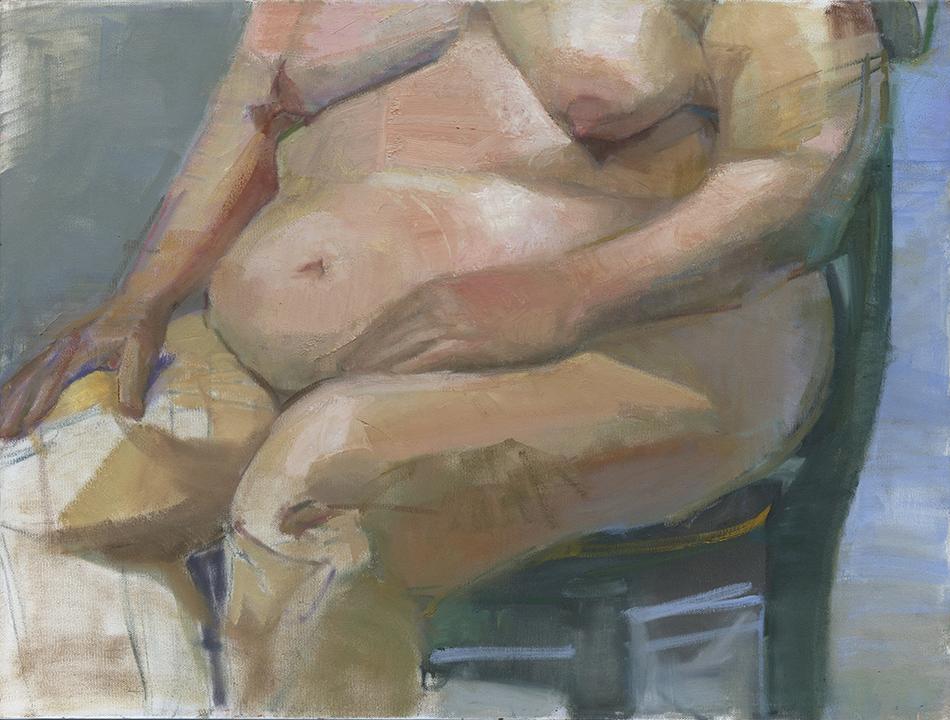 Torso Oil Painting