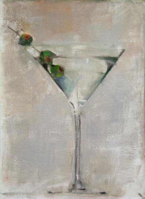 Martini Oil Painting